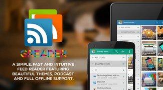 gReader 4.0: RSS-Reader mit Feedly-Support erhält Material Design-Update