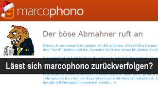 Kann man marcophono zurückverfolgen?