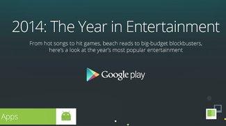 Play Store 2014: Erfolgreichste Apps, Games, Musik & Filme
