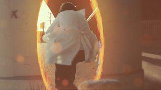 Zu schön um wahr zu sein: Basketball mit Portal-Gun (Video)