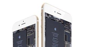 Wallpaper für iPhone 6, iPad Air, iMac und Co. im Platinen-Layout zum Download