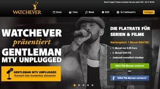 Watchever: Musikbereich mit Konzert-Videos gelauncht, Gentleman-Konzert als kostenloser Stream