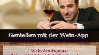 Wein-App: Der richtige Wein zu delikatem Essen