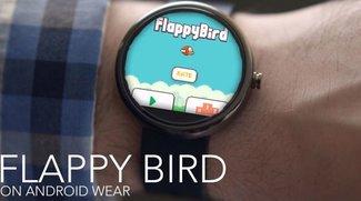 Flappy Bird: Geschicklichkeitsspiel landet auf Android Wear
