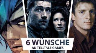 Telltale Games: 6 Spiele, die wir uns wünschen!