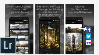 Adobe Lightroom für Android erschienen
