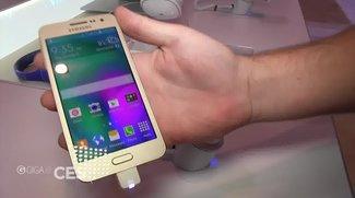 Samsung Galaxy A3 &amp&#x3B; A5: Die neue Mittelklasse im Hands-On [CES 2015]
