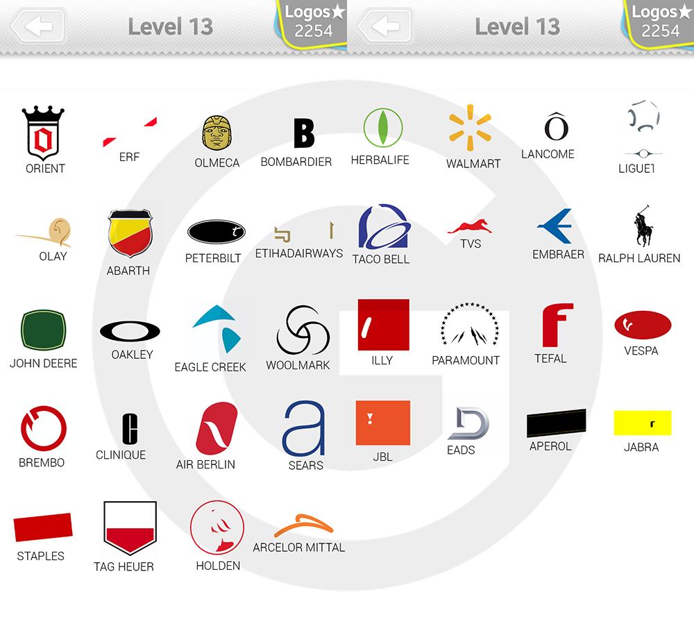 logo quiz level 13 lösung