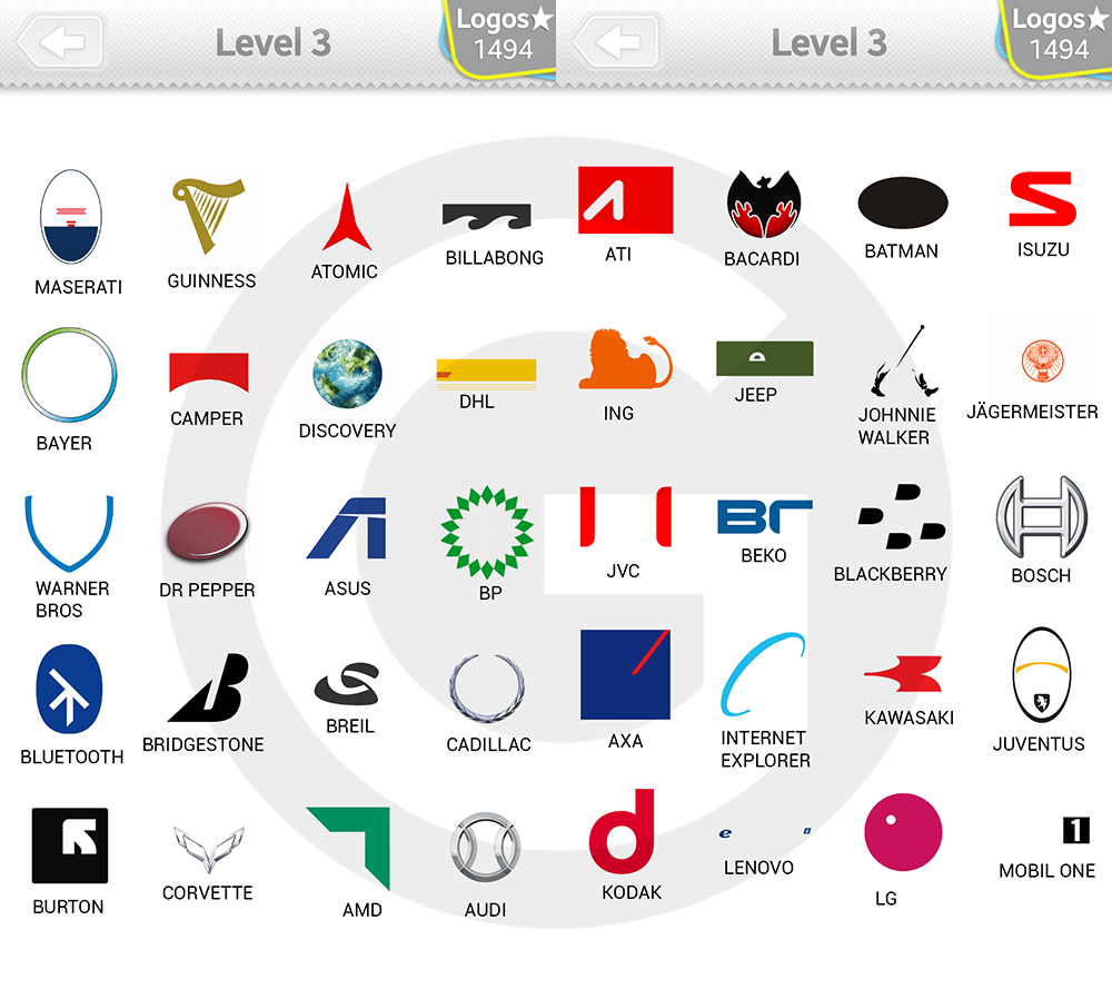 Logo Quiz Level 3