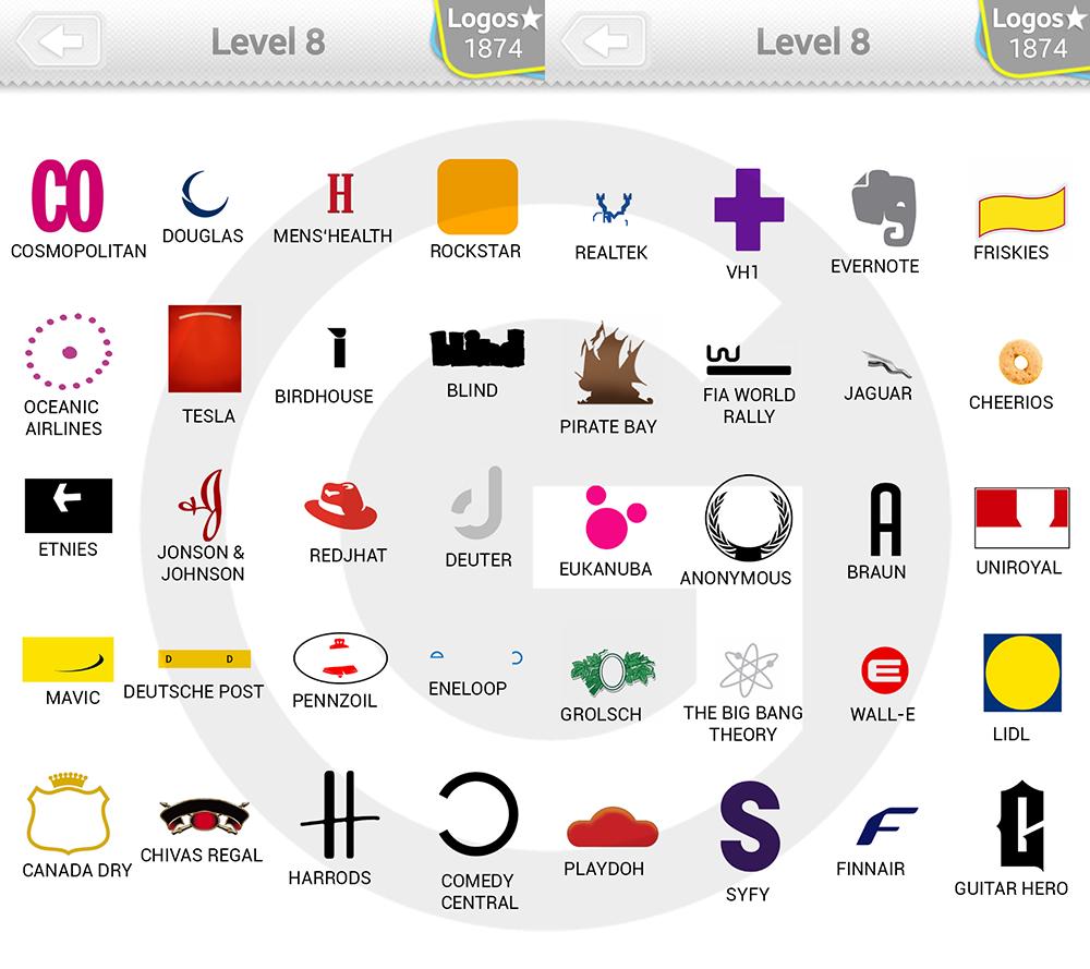 logo quiz extra levels l246sungen expert level 8 giga