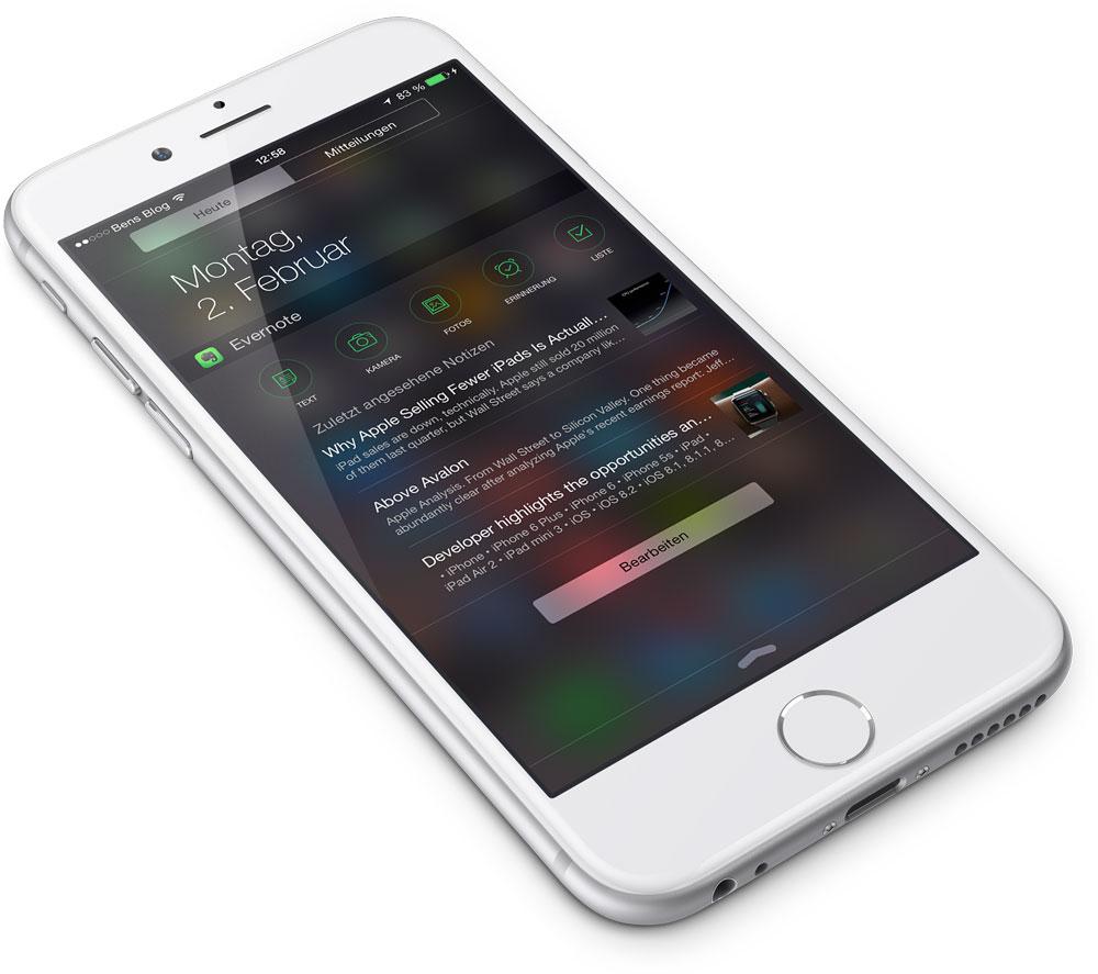 Top 20 Die Besten IOS 8 Widgets GIGA