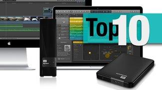 Externe Festplatten für den Mac: Aktuelle Bestseller im Überblick