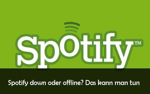 Spotify down: Verbindung nicht möglich - Störungen und Server-Status heute