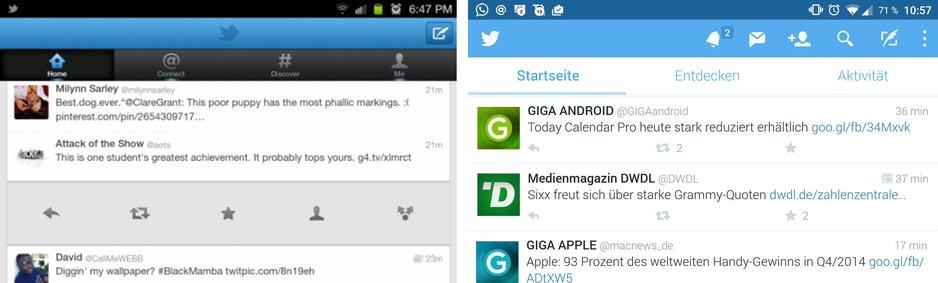 heute de app android