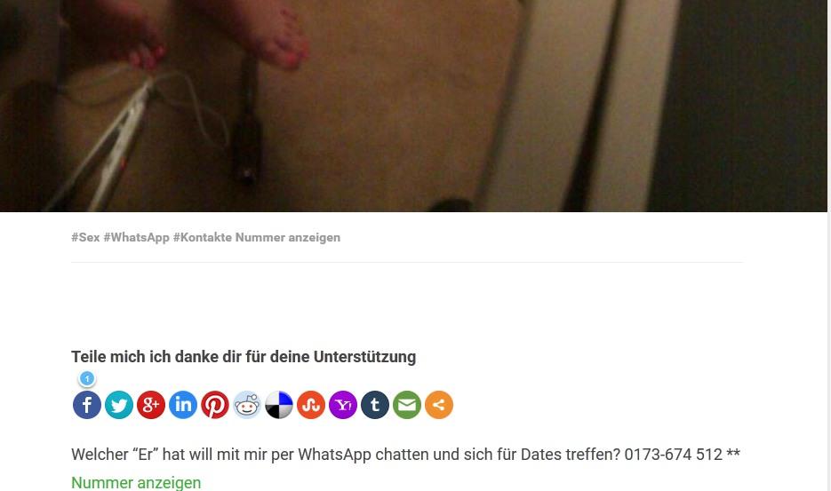 whatsapp nummern von frauen versaute whatsapp bilder