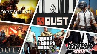 Die 15 aktuell meist gespielten Spiele bei Steam (Januar 2018 – weltweit)