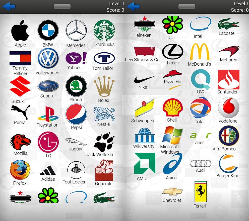 Logospiel Lösungen Level 2