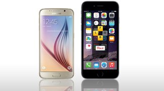 Samsung Galaxy S6 vs. iPhone 6 Plus: Video-Vergleich der Smartphone-Boliden