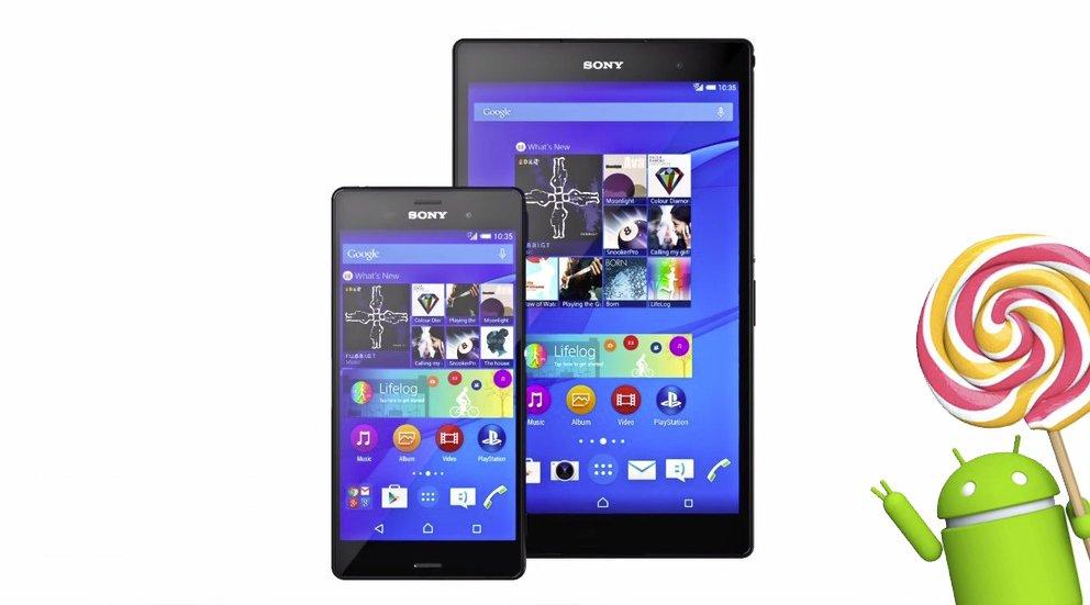 Sony Xperia Z3, Z3 compact, Z3 Tablet compact: Update auf Android 5.0 Lollipop weltweit gestartet [Update]