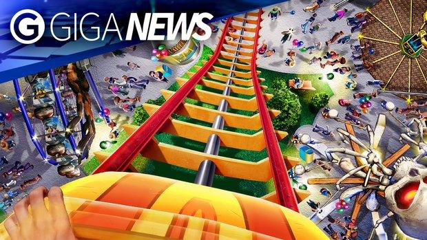 GIGA News: Rollercoaster Tycoon auf Talfahrt und der Tod von Maxis