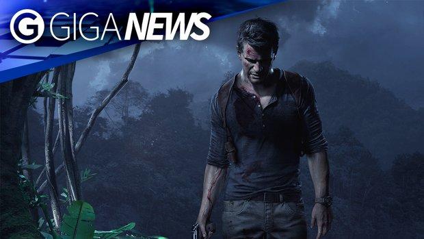 GIGA News: Nathan Drake und Cyberpunk 2077 haben Probleme beim Kommen