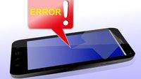 Touchscreen reagiert nicht: So behebt man das Problem
