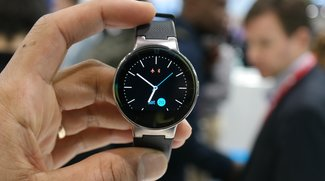 Alcatel OneTouch Watch: Runde Smartwach für Android und iOS im Hands-On [MWC 2015]