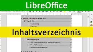 LibreOffice: Inhaltsverzeichnis einfügen – So geht's
