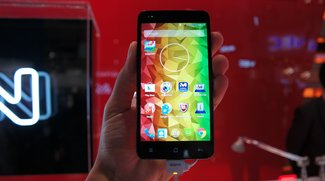 Medion Life P5004: Octa Core-Budget-Smartphone im Hands-On-Video [MWC 2015]
