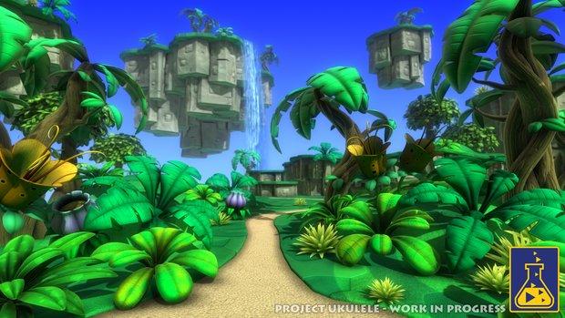 Project Ukulele: Erste Bilder zum geistigen Banjo-Kazooie-Nachfolger