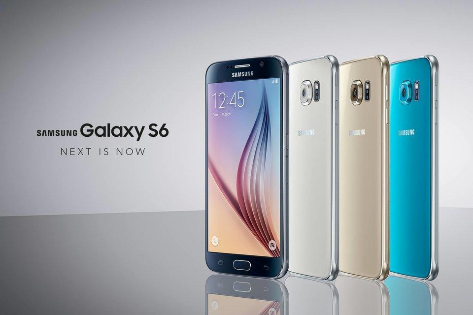 Die Farben des Samsung Galaxy S6. Bildquelle: Samsung.