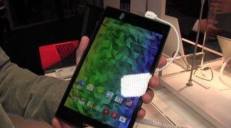 Medion Lifetab S8311: 8 Zoll Mittelklasse-Tablet im Hands-On-Video [MWC 2015]