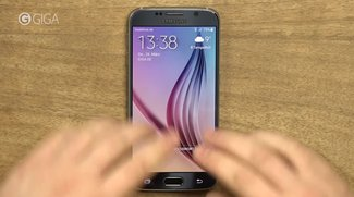 Samsung Galaxy S6: TouchWiz-Oberfläche im Video