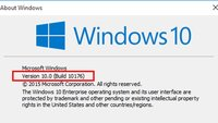 Windows-Version anzeigen & Build-Nummer – so geht's!