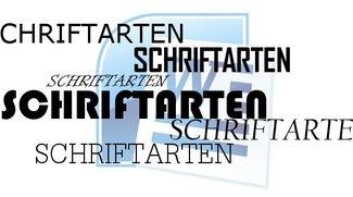 Coole Schriftarten: Konkurrenz für Calibri, Open Sans und Co.