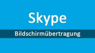 Skype-Bildschirmübertragung – so startet ihr sie