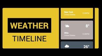 Weather Timeline – Forecast