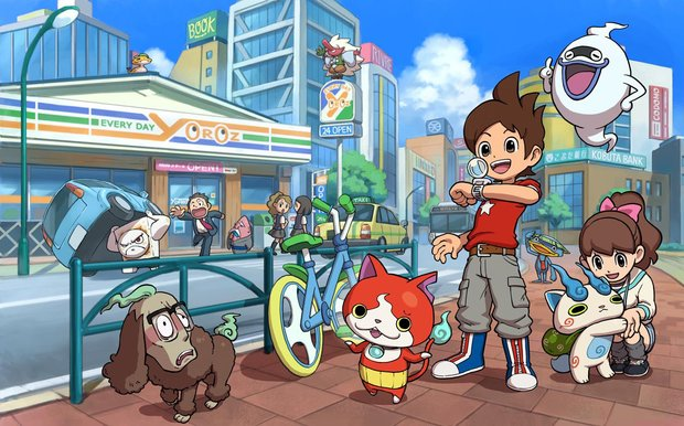 Yo-Kai Watch: Nintendo bringt Kult-Reihe in den Westen