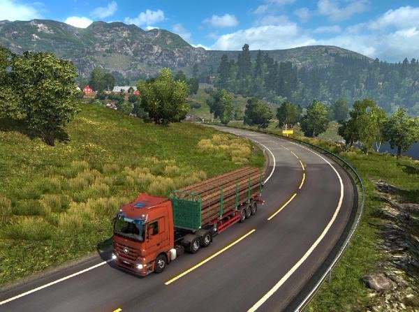 Euro Truck Simulator 2: Patch 1.17.1 und Scandinavia-Add-On sind da