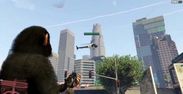 GTA 5: Affentheater dank lustiger Mod