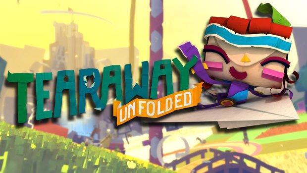 Tearaway Unfolded: Companion-App angekündigt