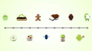 Android-Versionen im Lauf der Zeit: Geschichte des Google-Betriebssystems
