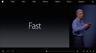 Apple stellt WWDC-2015-Keynote-Aufzeichnung auf Website