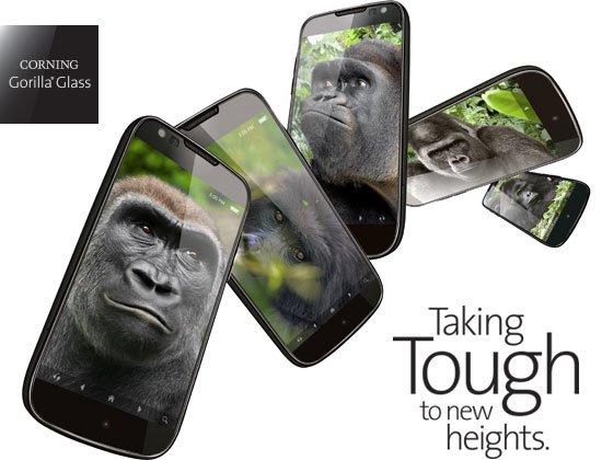 Gorilla Glass 5 ist derzeit die aktuelle Glas-Technologie von Corning.