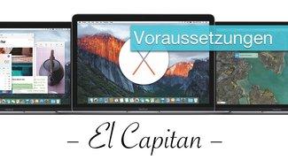 OS X 10.11 El Capitan Kompatibilität und Systemvoraussetzungen: Diese Macs funktionieren