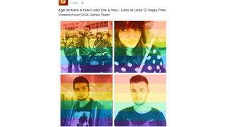 Regenbogen-Profilbilder bei Facebook: Was ist das und wie kann man das bunte Pic selber machen?