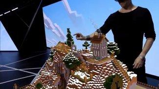 Minecraft mit HoloLens spielen: So wirds funktionieren