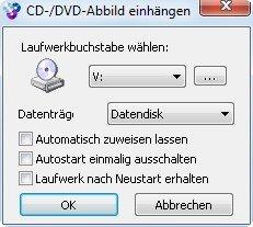opensource-dvd einbinden wincdemu