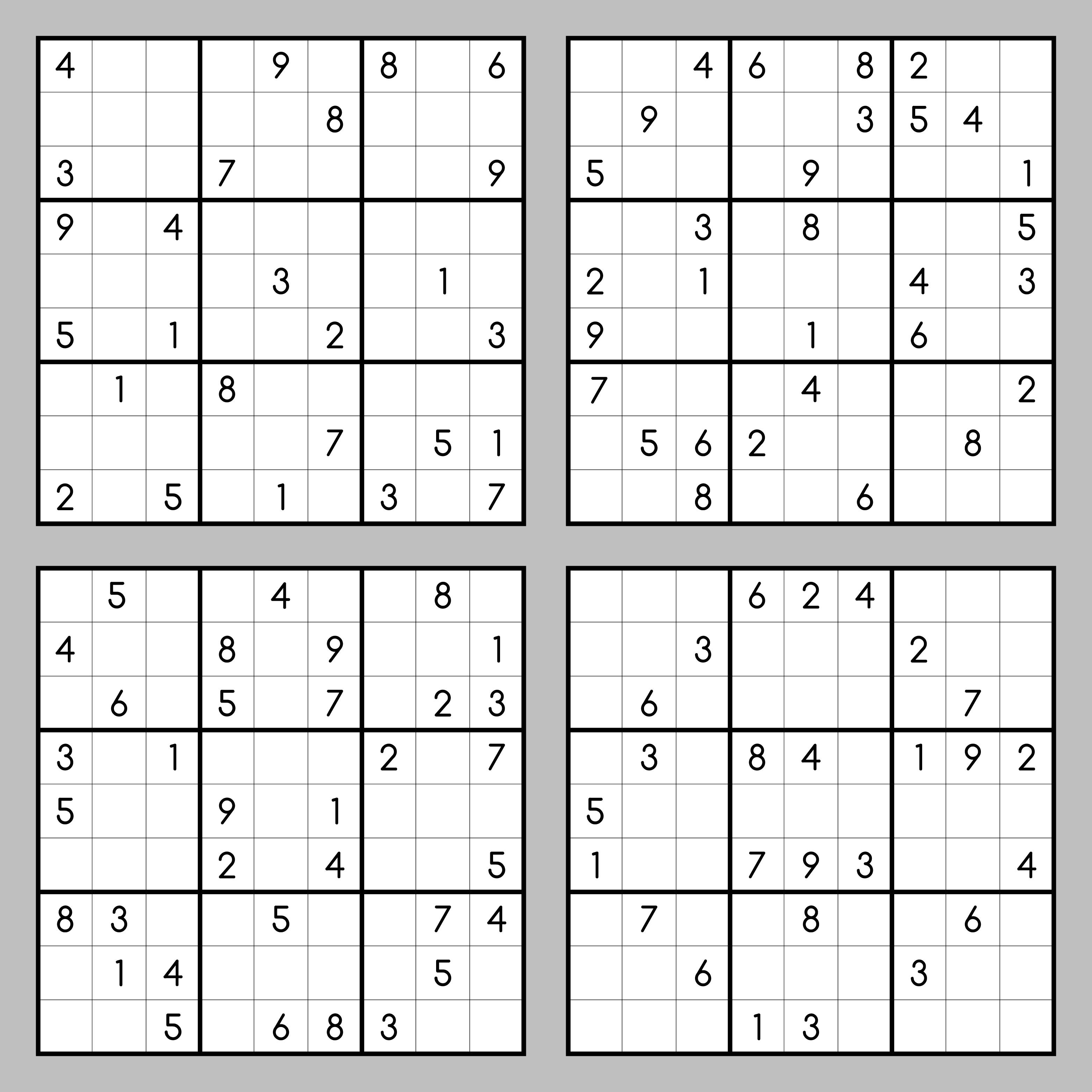 Sudoku Zum Ausdrucken Kostenlos ♥ Kostenlose Sex Dating 2018