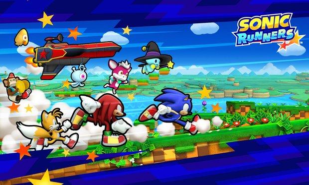 Sonic Runners: Neuer Endlos-Runner im klassischen 2D-Gewand